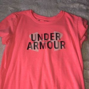 Under Armour Coral Tee